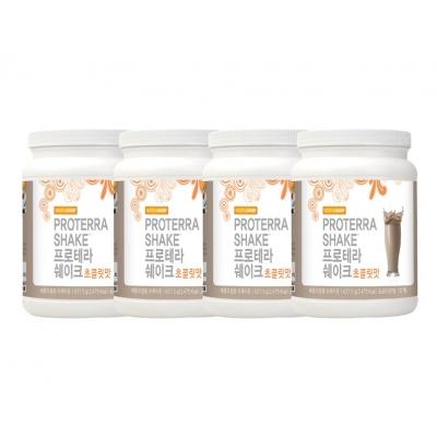 도테라 프로테라쉐이크 초코맛 4개 세트 체중조절 쉐이크